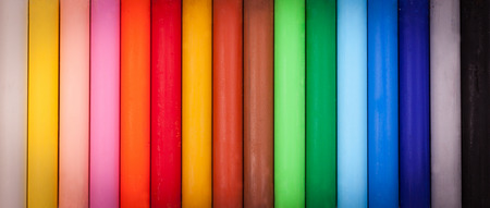 Color chalk Archivio Fotografico