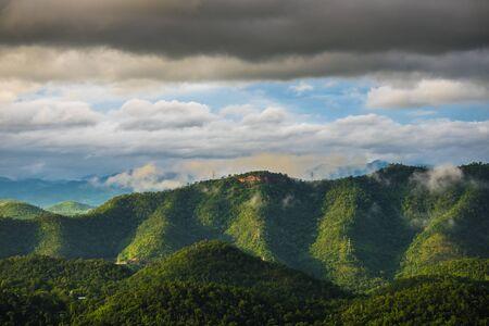 Landscapes of Kanchanaburi, Thailand