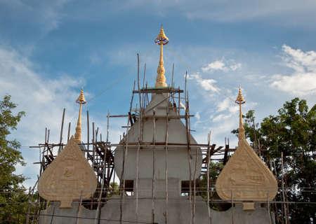 arch Thai temple  photo