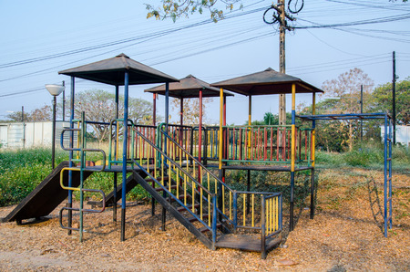 Old playground photo