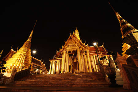 Wat Phrasrirattana Sasadaram, the Temple of the Emerald Buddha Stock Photo