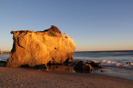 el matador beach in malibu, LA