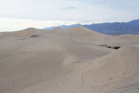Sand dune in Death Valley Stock Photo