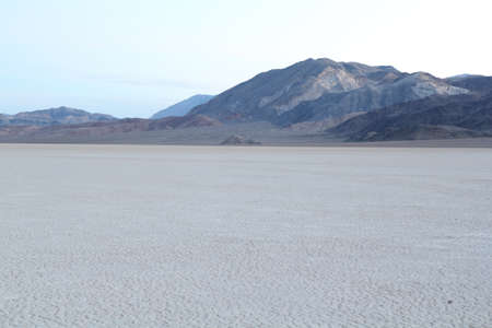 racing track in Death Valley