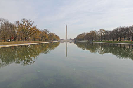 Reflecting pool in Washington DC