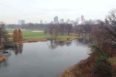 Central park in Manhattan, New York Editorial