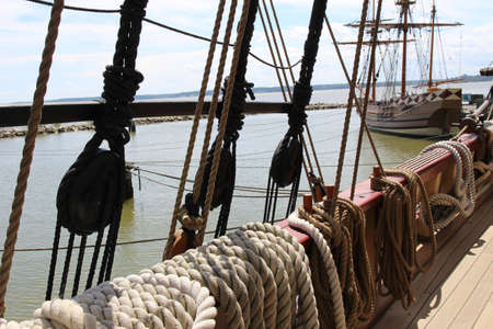 onboard: Onboard the moored old ship