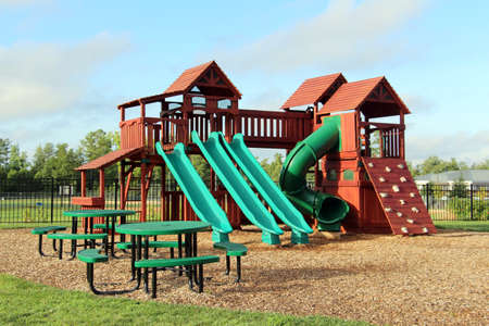 children play area: Childrens playground