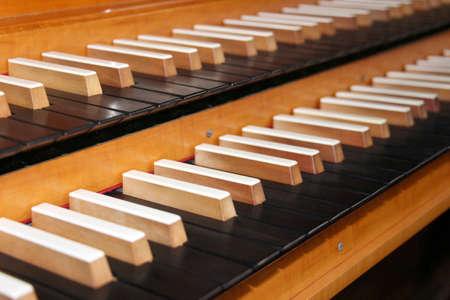 assemblies: Pipe organ keyboard