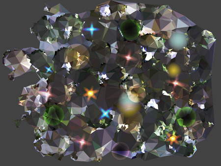 reminiscent: Abstract background reminiscent of diamonds Illustration