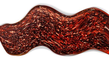 bedrock: Abstract background resembling hot lava Illustration