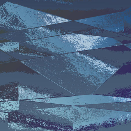 aluminum foil: Abstract background of blue metallic foil