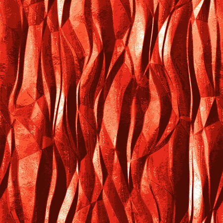 resembling: Abstract background of metallic foil resembling flame