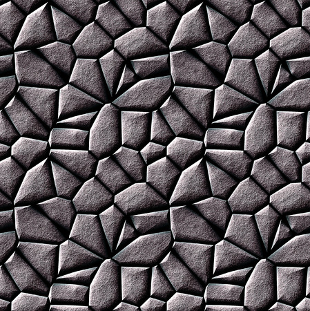 Seamless pattern of silver stones photo