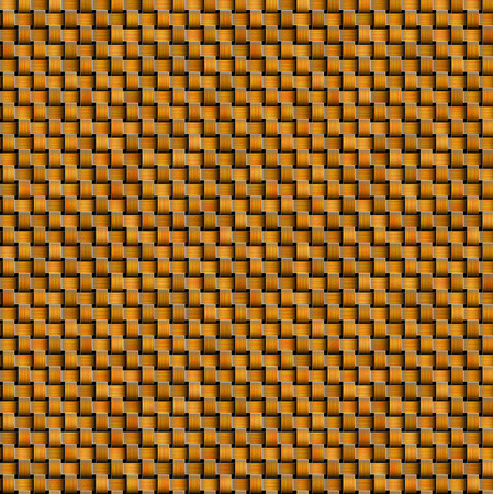 woven: Orange woven intertwined background Stock Photo