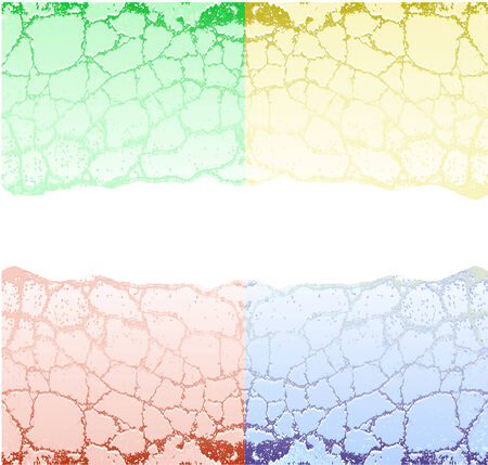 reminiscent: Abstract cracked background reminiscent four seasons