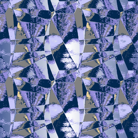mirrored: Abstract background resembling mirrored glass shards Illustration