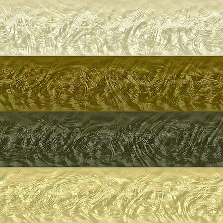 gold brown: Pattern of gold, brown, white and gray stripes with embossed relief