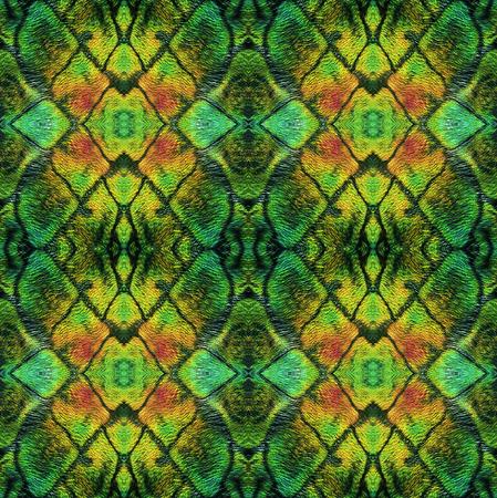 crocodile skin: Abstract seamless pattern with crocodile skin