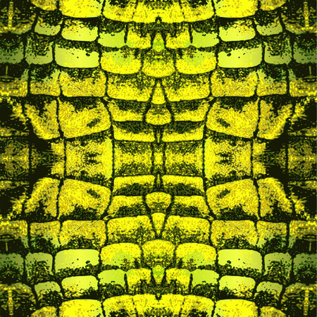 scaly: Abstract snake pattern with scaly structure