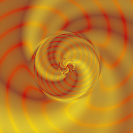 rippling: Abstract red, orange and gold background with rippling pattern
