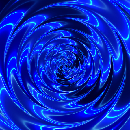 Abstract background with glowing structure resembling a rippling sea waves