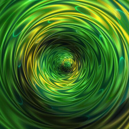 Abstract background of intertwining rippling concentric pattern creating an illusion of movement Stock Photo