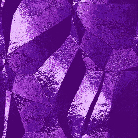 brushed: Abstract purple, pink and blue scratched background resembling brushed metal foil Illustration
