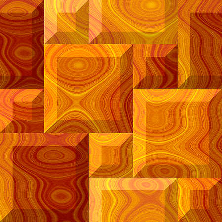 beveled: Abstract seamless pattern of beveled wooden squares with typical wooden texture