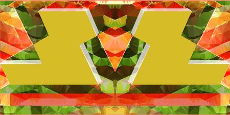 Abstract polygonal pattern. Иллюстрация