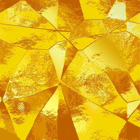 Abstract polygonal pattern. Illustration