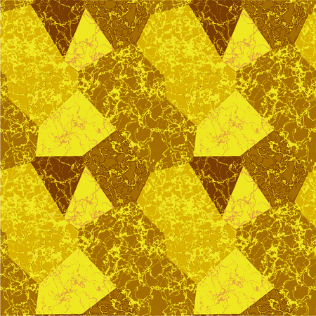 Abstract polygonal marble pattern with veins.