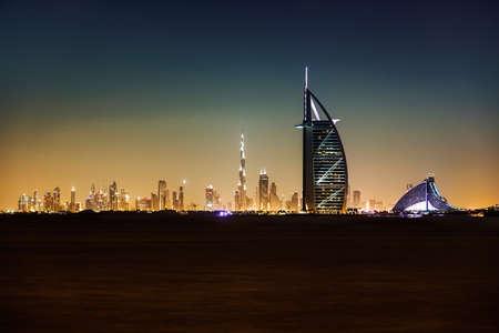 Burj Al Arab and Jumeirah hotel