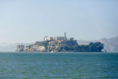 Alcatraz Island in San Francisco, Stock Photo