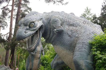tyrannosaur: dinosaur Stock Photo