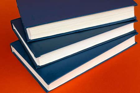 book on dark red background Stock Photo - 3085191