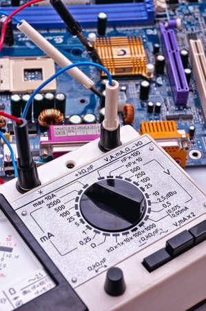 Multimetr - special electrical measuring equipment