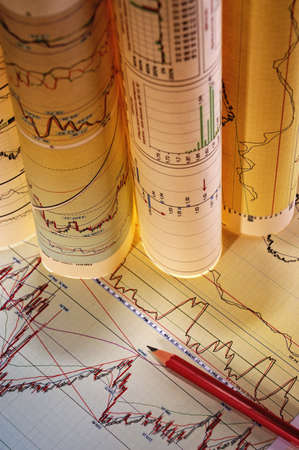 The financial analysis of growth of exchange sales on the basis of diagrammes and schedules