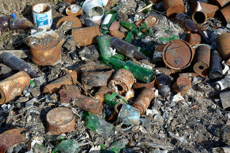 Spontaneous dump waste  ecological problem