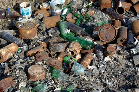 dump: Spontaneous dump waste  ecological problem