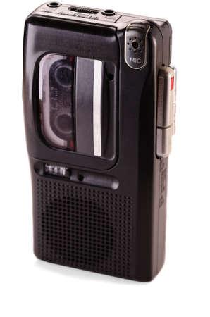 Diktiergerät auf weißem Hintergrund Standard-Bild - 22548193