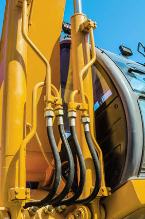 hydraulic hoses:   Rubber hoses hydraulic lifting device connection