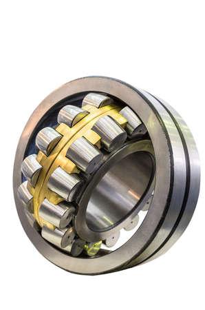 large diameter roller bearing isolated on white background Standard-Bild