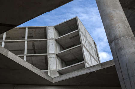 prefabricated: elements constructions of reinforced concrete