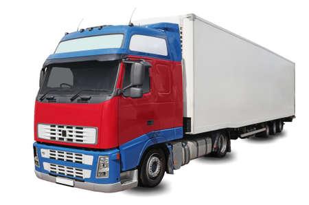cargo truck (alle Logos, Beschriftungen und Markierungen entfernt)