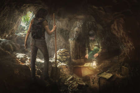 hunters: treasure hunters in search of the true treasures