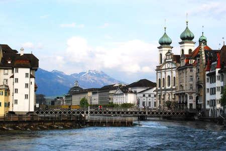 View of Lucerne, Swinzerland photo