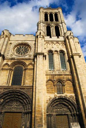 Basilica Saint Denis Tower, Paris, France Stock Photo - 4142197