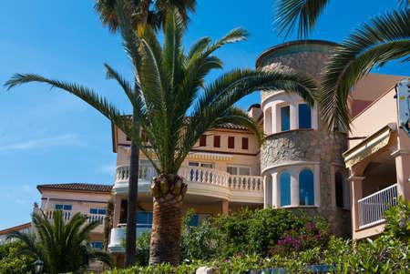 Luxury villa with the garden for rent, Majorca island, Spain photo