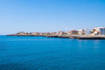 coma: Sa Coma cape and Mediterranean Sea, Majorca island, Spain Stock Photo
